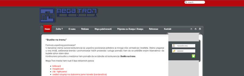 web design MegaTron Media