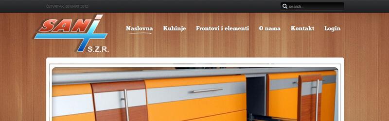 SANI plus web design