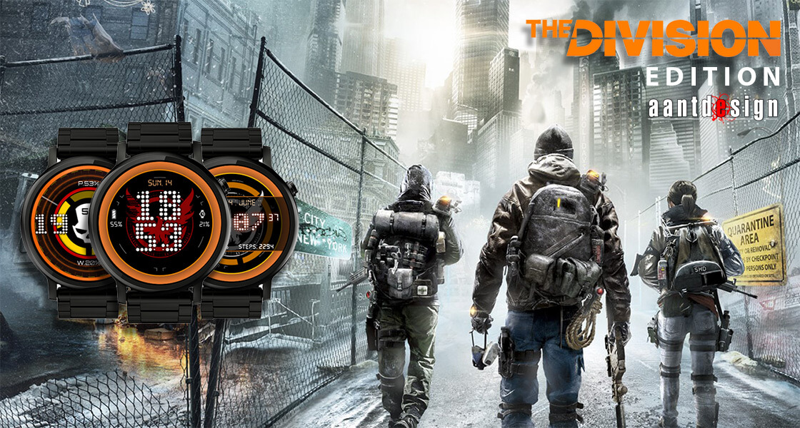Watch face The DIVISION edition