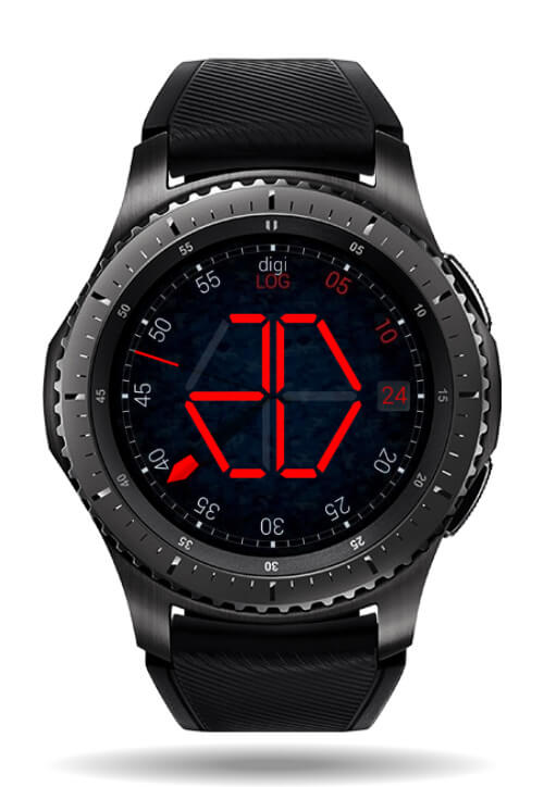 DigiLog watch face