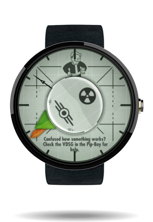 Fall Out watch face