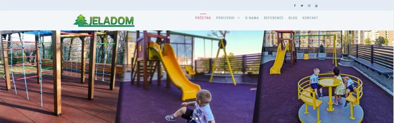 Jela DOM web design