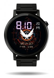 The Division watch face 02