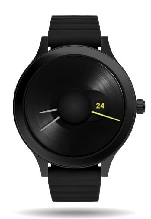 Vinyl Clear watch face